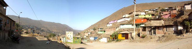 Asentamiento Humano Edén del Paraíso en Lomas de Villa María del Triunfo.